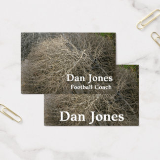 Rustic Tumbleweed Outdoorsy Template Business Card