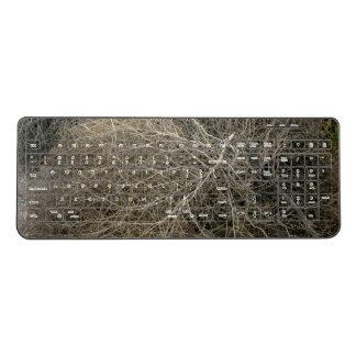 Rustic Tumbleweed Wireless Keyboard