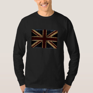 rustic Union Jack design shirt