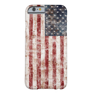 Rustic United States Flag Barely There iPhone 6 Case