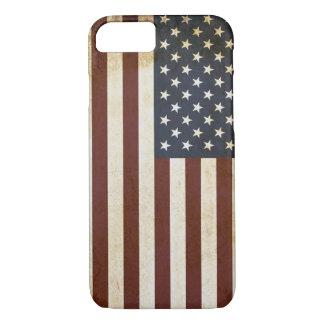 Rustic USA Flag Design iPhone 8/7 Case