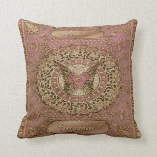 Rustic Vintage Chic Art Deco Cushions