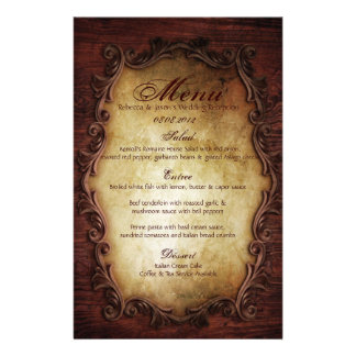 rustic vintage typography western country wedding personalised stationery