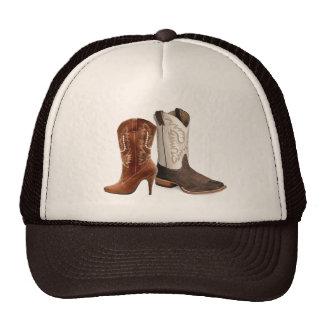 rustic vintage western country cowboy wedding cap