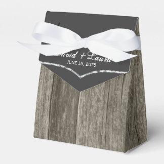 Rustic Wedding Favour Boxes