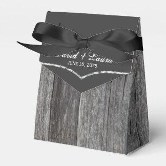 Rustic Wedding Wedding Favour Box