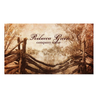 rustic western country farm wedding pack of standard business cards