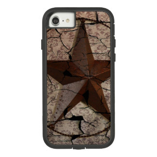 Rustic Western Country Primitive Texas Star Case-Mate Tough Extreme iPhone 8/7 Case