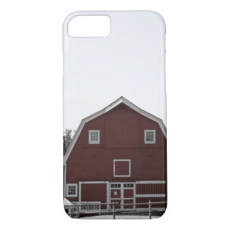 Rustic western country rural farmhouse red barn iPhone 8/7 case