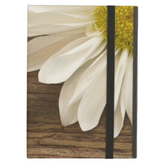 Rustic White Daisy Powis iCase iPad Case