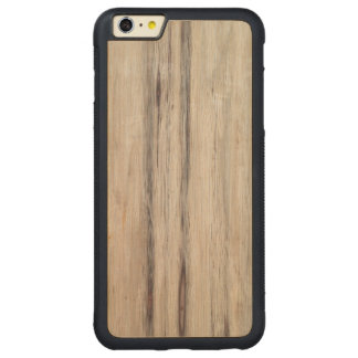 Rustic Wood Carved Maple iPhone 6 Plus Bumper Case