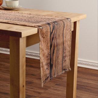 Rustic Wood Celtic Short Table Runner