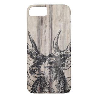 Rustic Wood   Deer iPhone 8/7 Case