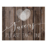 rustic wood favour Wedding sign Guestbook Print