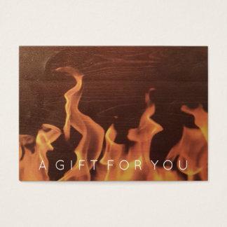 Rustic Wood Fire | Restaurant Gift Certificate