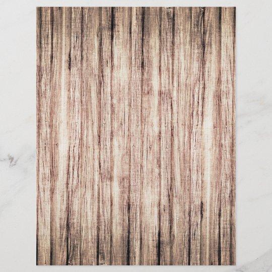 Rustic Wood Grain Background Scrapbook Paper