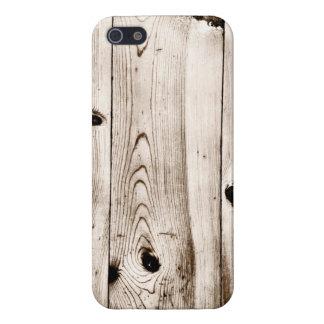 Rustic Wood Grain Boards iPhone 5 Case