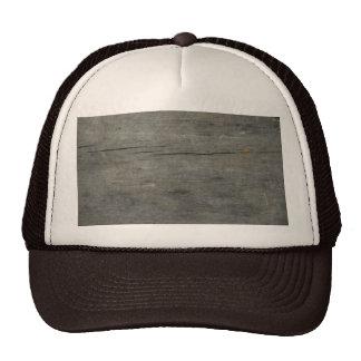 Rustic wood mesh hat