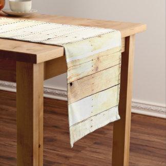 Rustic Wood Old Barn Board Barnwood Paneling Long Table Runner