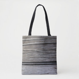 Rustic Wood Photo Modern Country or Nature Design Tote Bag