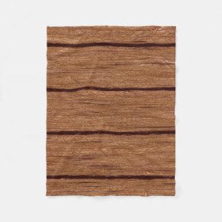rustic wood planks 15216b fleece blanket