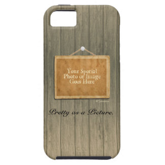 Rustic Wood Pretty as a Picture Case For The iPhone 5