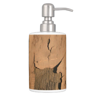 Rustic Wood | Primitive Weathered Old Paint Bathroom Set