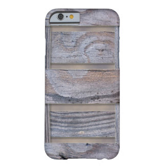 Rustic Wood Texture Pattern Barely There iPhone 6 Case