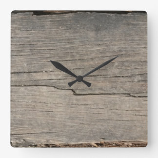 Rustic Wood Texture Wallclocks