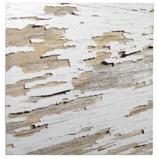 Rustic Wood Vintage Design Napkin