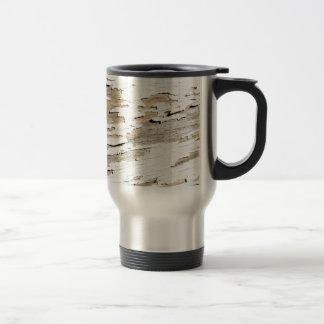 Rustic Wood Vintage Design Travel Mug