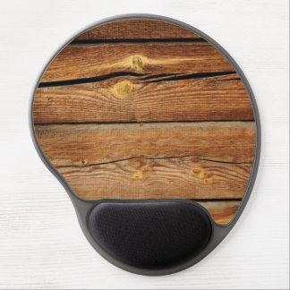 Rustic Wooden Planks  Wood Board Country Gifts Gel Mouse Pad
