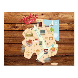 Rustic Wylie Texas Postcard
