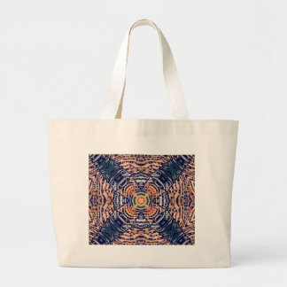 Rustic Zebra Abstract Bag