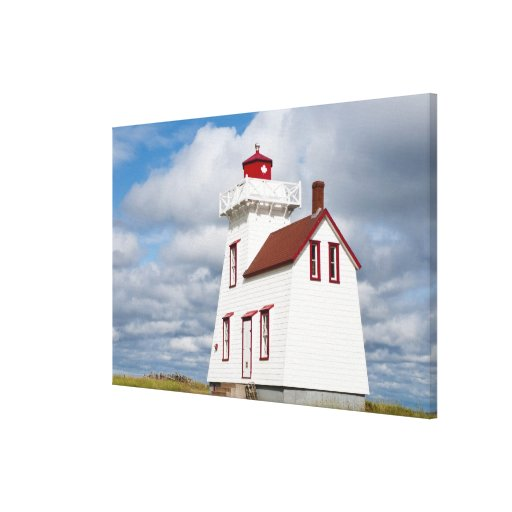 Rustico Harbour, Prince Edward Island. Canvas Prints