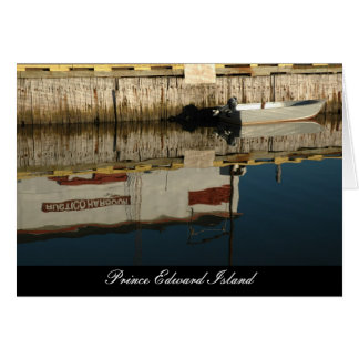 Rustico Harbour, Prince Edward Island Greeting Card