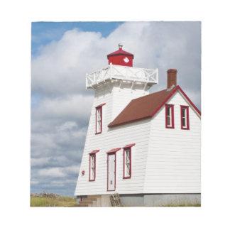 Rustico Harbour, Prince Edward Island. Memo Note Pad