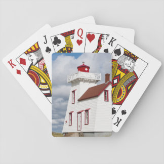 Rustico Harbour, Prince Edward Island. Poker Deck
