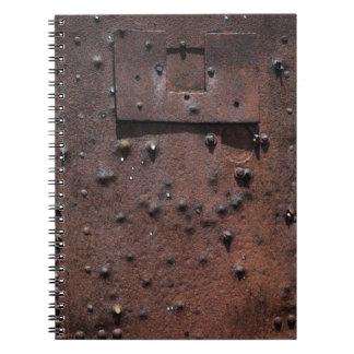 Rusting notebook