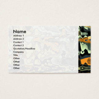Rusty abstract business card
