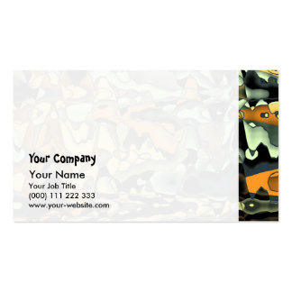 Rusty abstract pack of standard business cards