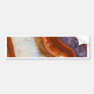 Rusty Amethyst Agate Bumper Sticker