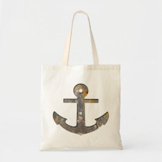 Rusty Anchor Budget Tote Bag