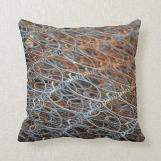rusty bed springs steampunk industrial cushion