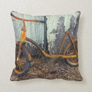 Rusty Bike Pillow