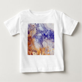 Rusty Blue Quartz Crystal Baby T-Shirt