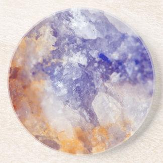 Rusty Blue Quartz Crystal Coaster