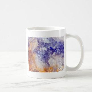 Rusty Blue Quartz Crystal Coffee Mug