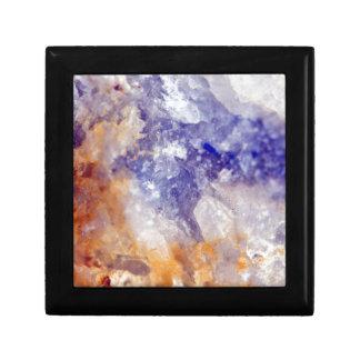 Rusty Blue Quartz Crystal Gift Box