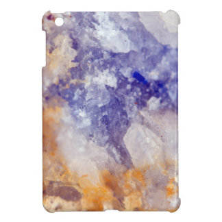 Rusty Blue Quartz Crystal iPad Mini Case